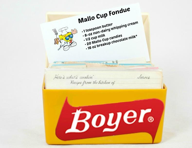 Mallo Cup Fondue