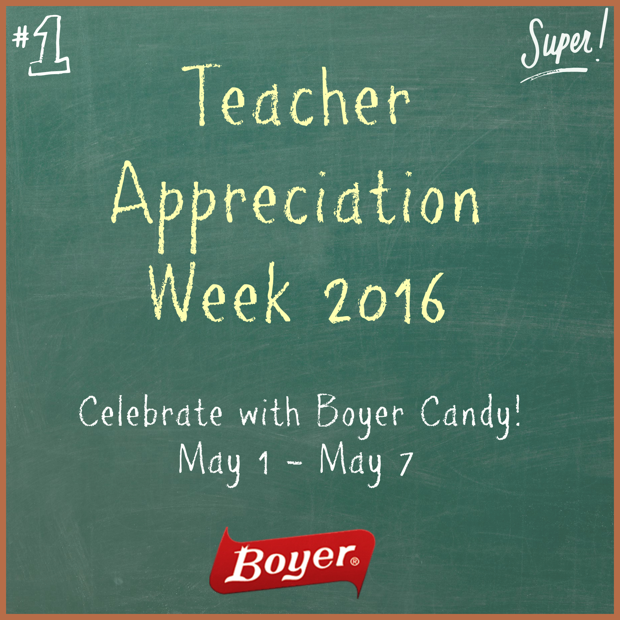 chocolate covered pretzel gifts for Teacher Appreciation Week